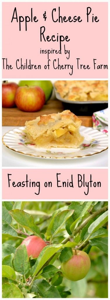 Food from Enid Blyton. apple & cheese pie