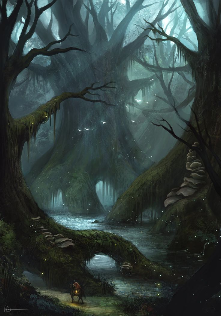 Substrata - Deep Swamp by Ninjatic.deviantart.com on @deviantART