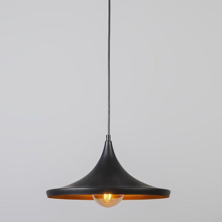 Hanglamp Depeche Solo 1 zwart