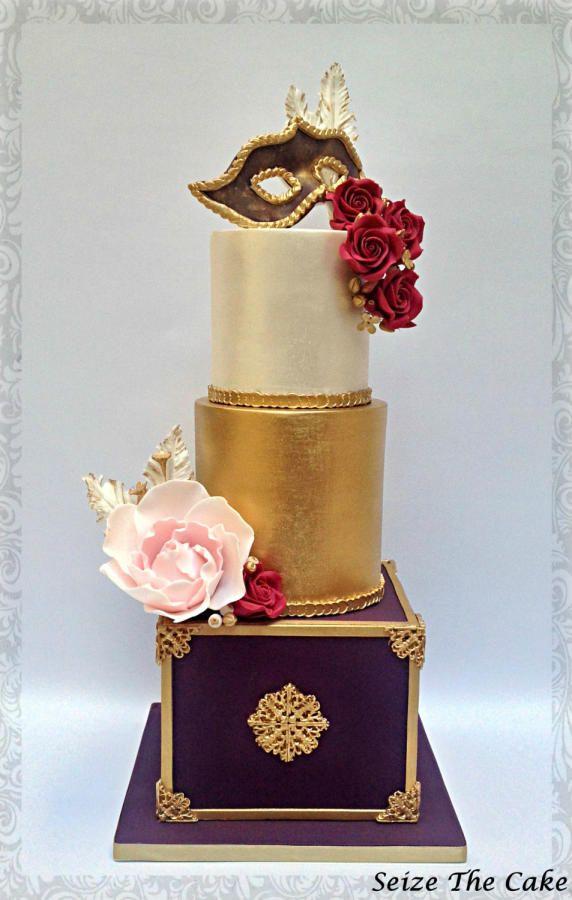 """""""Un Ballo in Maschera"""" Cake by Seize The Cake"""
