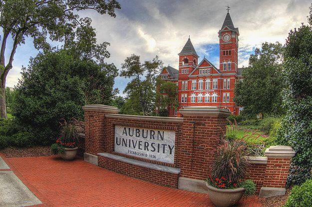 The Final Auburn College Bucket Listing