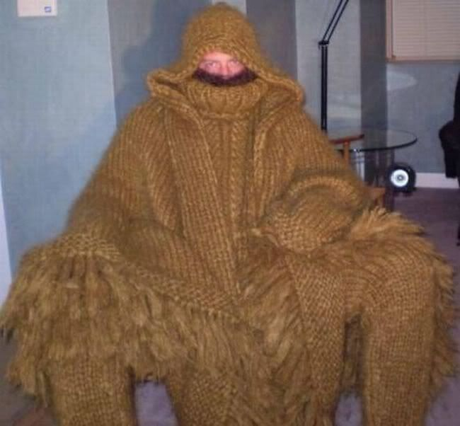 This would take the rest of my life to knit.