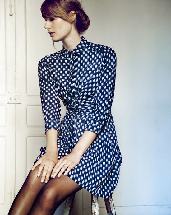 the new Heinui A/W 2013 collection, Indigo Girl, by French fashion designer Claire Pignot