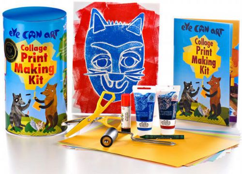 Art kits for kids are an excellent way to bring more art into your kids' lives. Everything's included in these fun art cans from Eye Can Art.