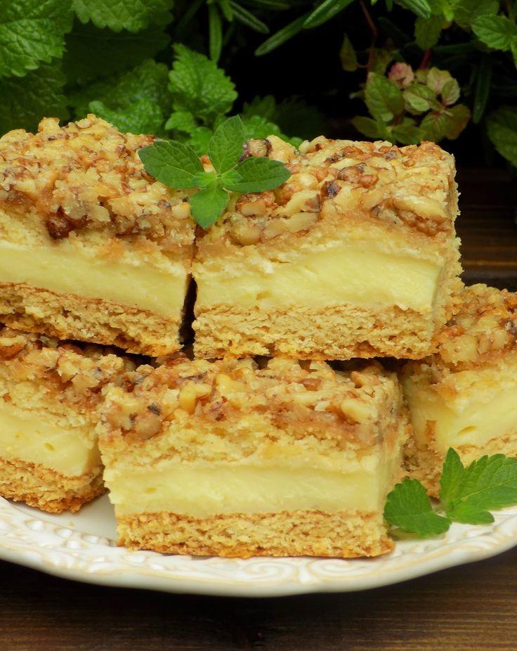 Domowa Cukierenka - Domowa Kuchnia: orzechowiec z masą na gorąco