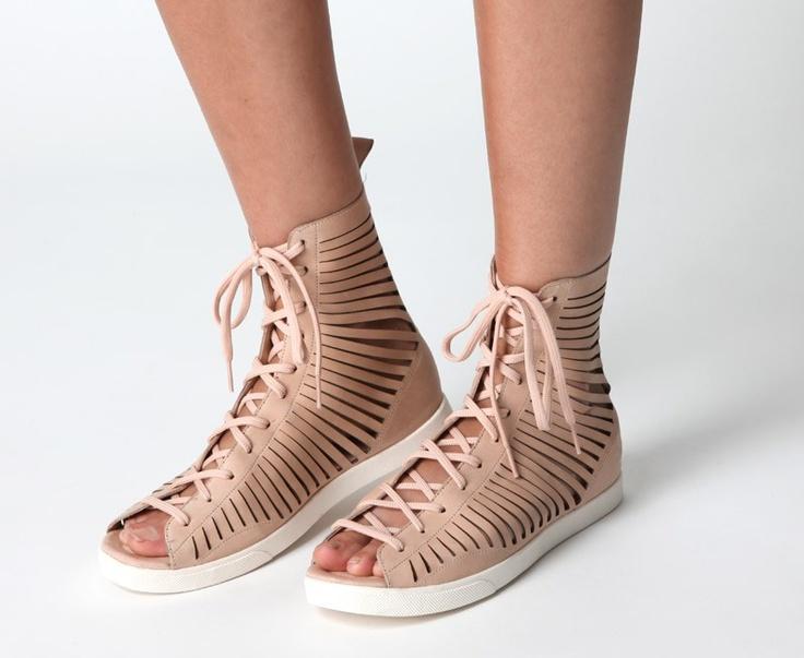 Tan Shoes White Sole