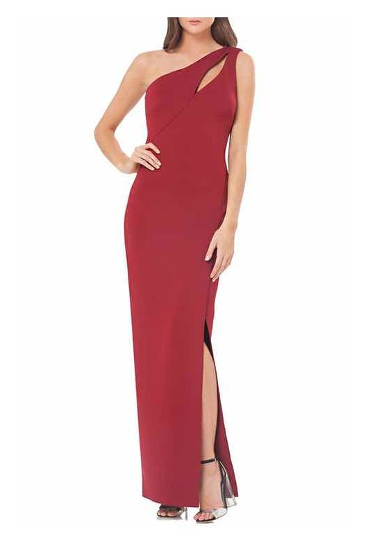 JS Collections One-Shoulder Scuba Gown - on #sale 40% off @ #Nordstrom