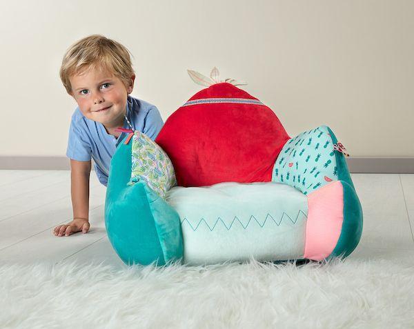 Le fauteuil Georges le Lémurien de Lilliputiens, idéal pour décorer la chambre de votre petit bout !