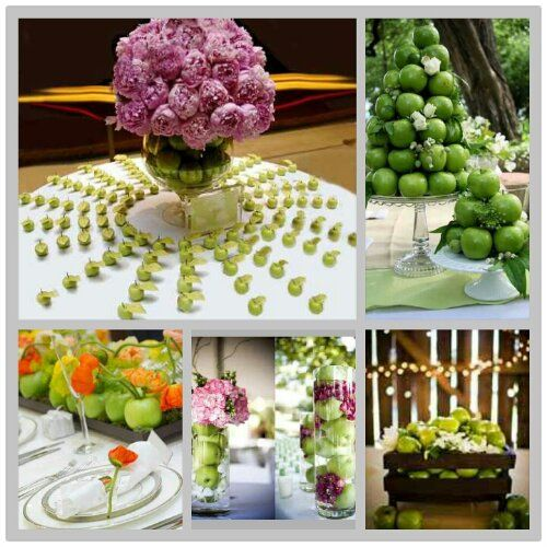 93 best apple wedding images on pinterest apple recipes apple apple wedding centerpieces fall decor party ideas chic design indulgencesg junglespirit Gallery
