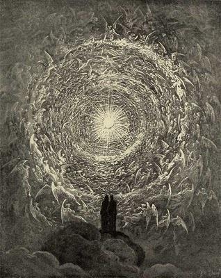 Dante Alighieri and Gustave Dore