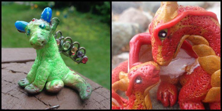 My progress from August to December... ^_^  https://www.facebook.com/pages/ZAs-Clay-Critters/266554163544718