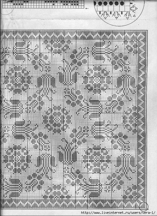 Elena Crochet D'Art Hors-serie 03H (филейное вязание). Обсуждение на LiveInternet - Российский Сервис Онлайн-Дневников