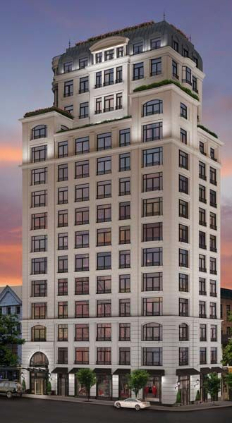 The Touraine, a 22-unit boutique condominium building under construction at 65th Street and Lexington Avenue, will deliver units in 2013. 16 units are already under contract.