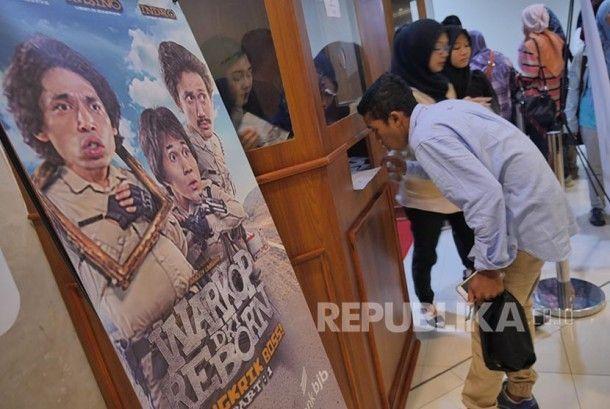 Jumlah Penonton Bioskop di Indonesia Dinilai Masih Rendah - Republika Online