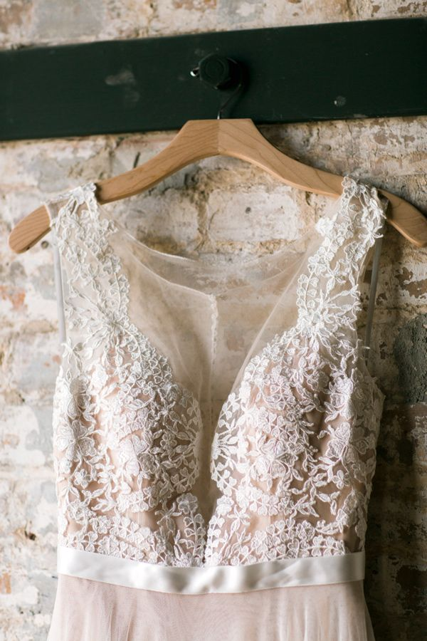lace wedding dress detail - photo by Tasha Rae Photography http://ruffledblog.com/high-tide-new-orleans-wedding