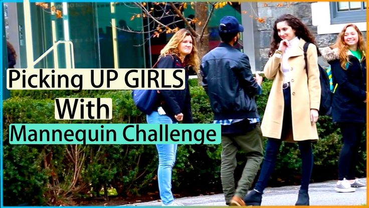 MANNEQUIN CHALLENGE in Public Prank (PICKING UP GIRLS)