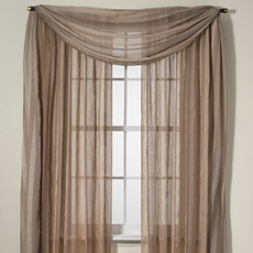 Sabrina Window Panels and Valance - Bed Bath & Beyond--Love these drapes!