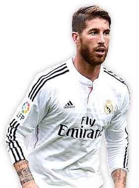 Sergio Ramos es un futbolista español y capitán del Real Madrid Club de Fútbol de la Primera División de España.