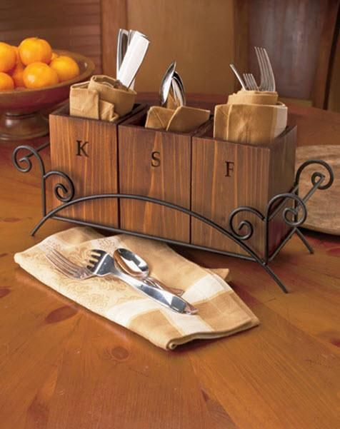 Best 25 rustic flatware ideas on pinterest table setting design place setting and linen rentals - Wrought iron silverware ...