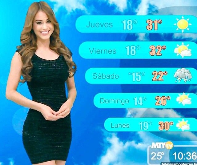 Yanet Garcia  Yanet Garcia Meet Mexicos Hottest Weather -1754