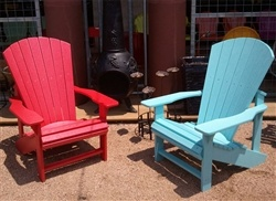 Adirondack Chairs Made From Recycled Plastic   No Painting, Chipping, Or  Peeling From Zinger Hardware, Austin, TX