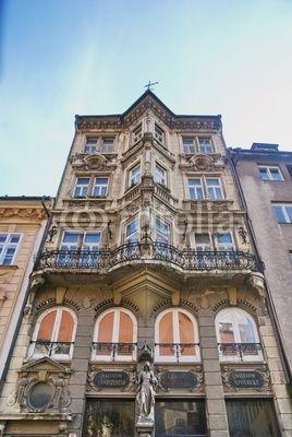 Ancient building - Apotheke Salvator at Panská Street - Bratislava ( Lékarna u Salvátora na Panské ulici v Bratislavě )