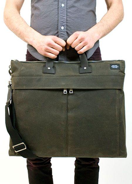 Jack Spade Waxwear Utility Bag