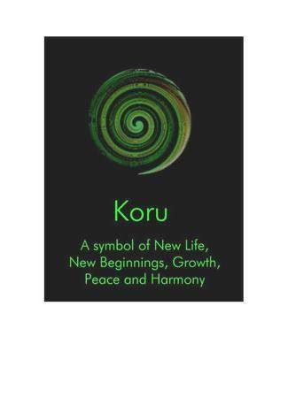 New Zealand Koru New Beginnings - NZ636 - new, card, koru, symbol, life, beginnings, ... - The Chelsea Card Co.