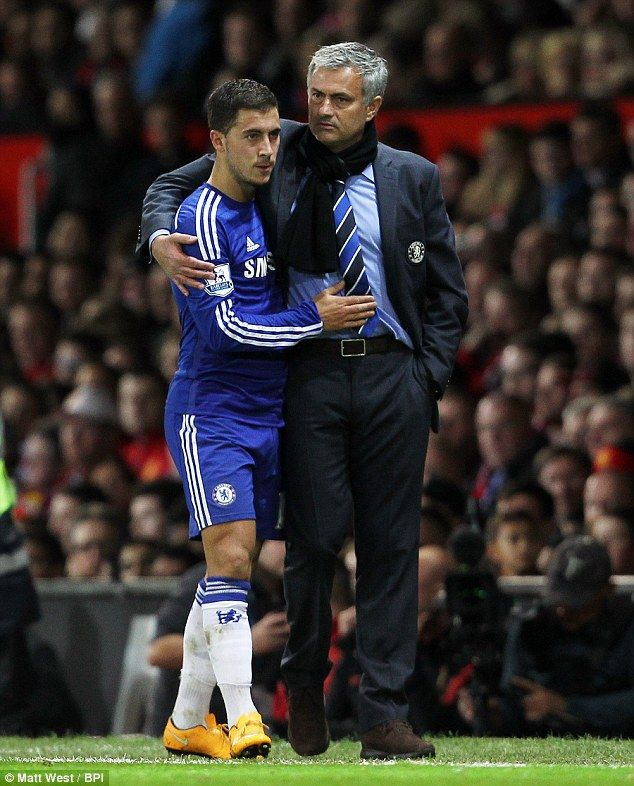 Eden Hazard and JM