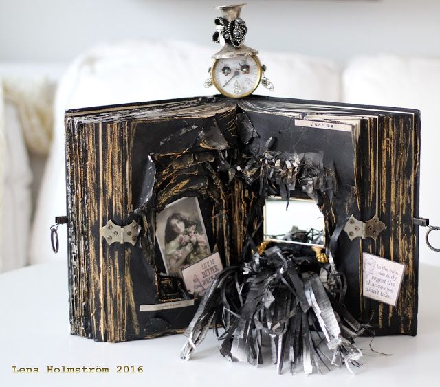 Old book - Created for Mixed Media WorldMMW