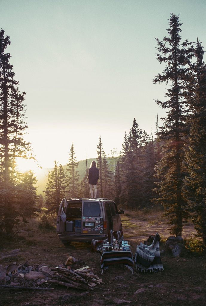 | ROAR VIBE LONDON |  (photo by Theo Gosselin on Flickr) Forest Camping. Pin via…