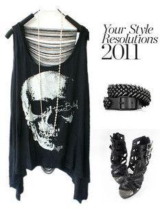 2013 new women T shirts Skull Punk Singlet Dress Vintage Tank Pop Sexy Top long Tee T-Shirt Free shipping $5.80 - 6.80