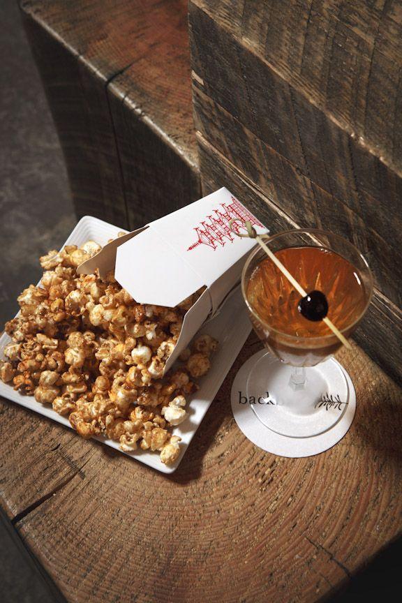 Funky Popcorn And Tails At Backbar By Journeyman Boston Restaurantssomerville Maboston Areaunion Squarepopcorntailskettle Popcorntail