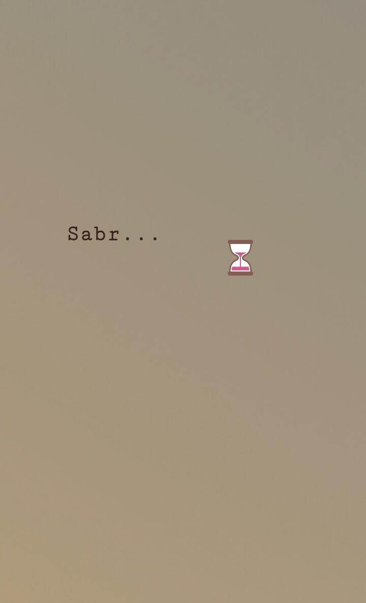 Sabr...