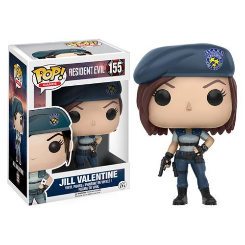 Resident Evil Jill Valentine Pop! Vinyl Figure - Funko - Resident Evil - Pop! Vinyl Figures at Entertainment Earth