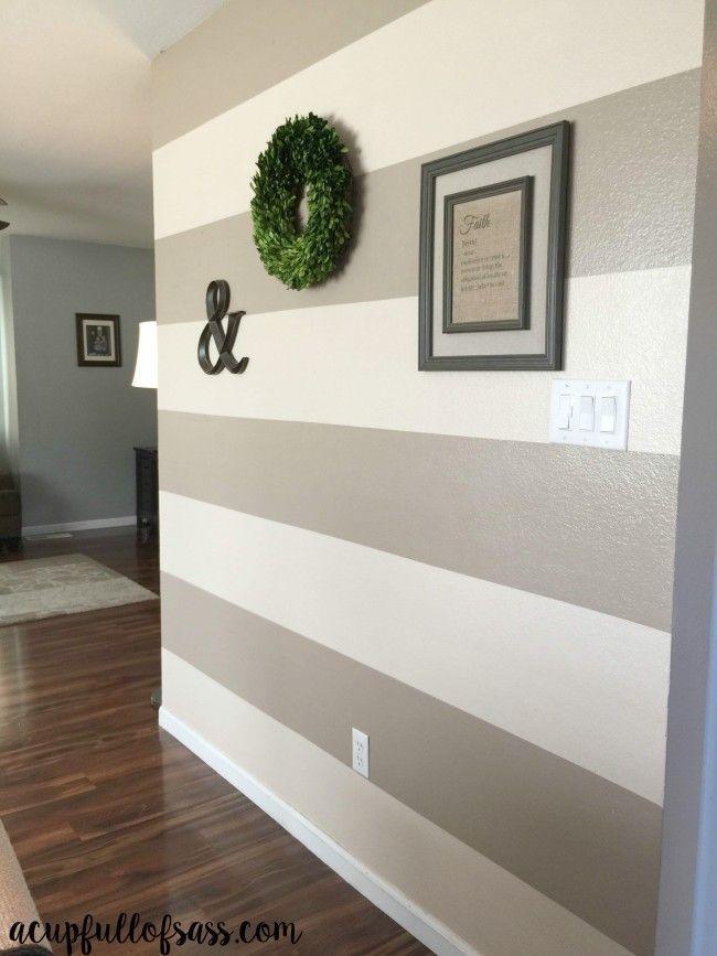 Lovely How To Paint Wall Stripes Amazing Design