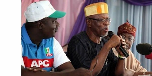 APC chairman Oyegun  NATIONAL Chairman of the All Progressives Congress APC John Oyegun has said that President Muhammadu Buhari was given a tough task when he was elected in 2015. Oyegun insisted that Buhari is doing well in dealing with the challenges he met on ground.  According to a statement issued by APC Assistant Publicity Director Edegbe Odemwingie on yesterday Oyegun made these remarks when he received a delegation of the party from Niger State led by Mohammed Jibril Adamu state…