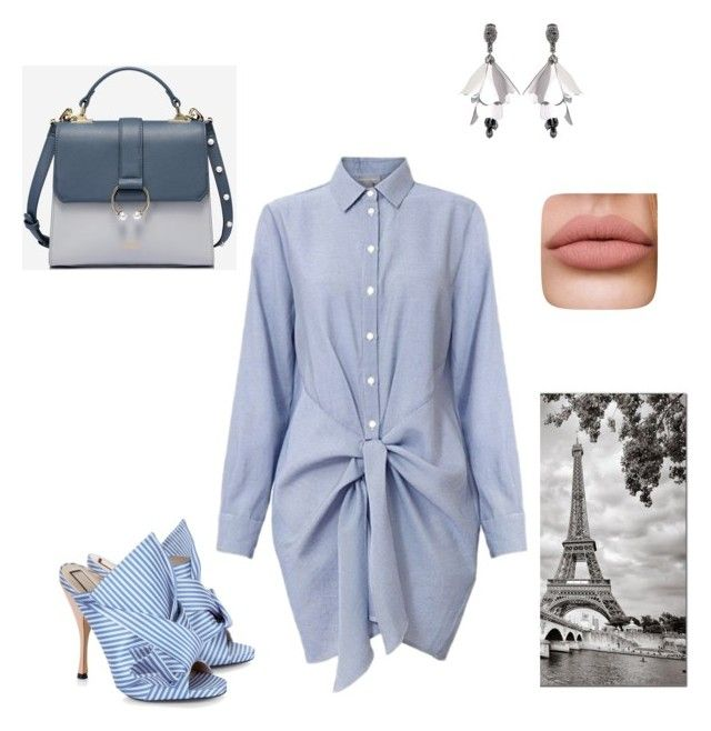 """Untitled #50"" by mariastoica on Polyvore featuring N°21 and Oscar de la Renta"