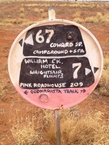 The famous Pink Roadhouse signs. A legacy left by the late (and missed) Adam Plate