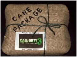 Call of Duty party?  hmmm...