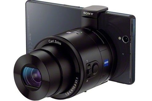 Sony DSC-QX100 and DSC-QX10 Lens-style Cameras review   As a part of the these achievements,notedly the company has announced the stylish lens cameras for smartphones known as Sony DSC-QX100 and DSC-QX10 camera lens along with Smartwatch watch2 and Xperia Z1 at a grand event IFA