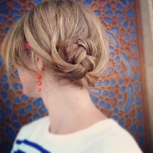 Hair Romance braided bunShort Hair, Updo Hairstyle, Hair Romance, Shorts Hair, Buns Hairstyles, Hairstyle Tutorials, Braided Bun Hairstyles, Hairstyles Tutorials, Braids Buns