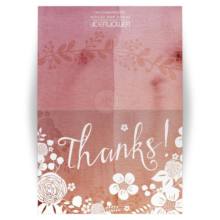 Best Thank You Cards Images On   Appreciation Cards