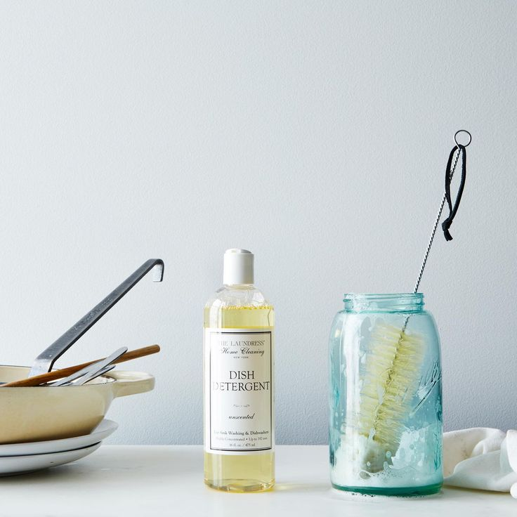 All Natural Surface Cleaner, Dish Detergent, Brush and Cloths on Food52