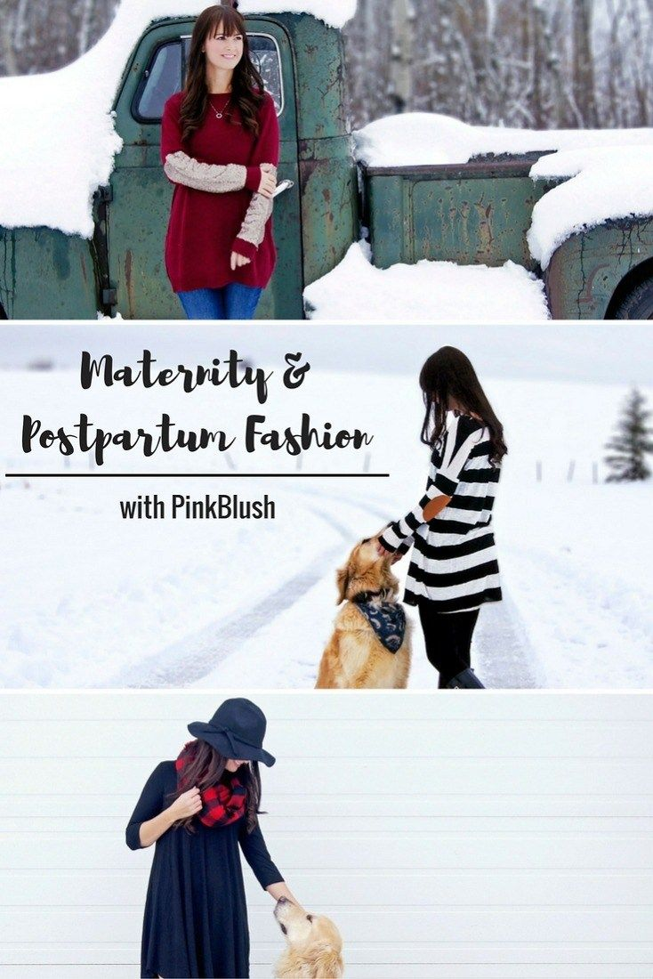 Maternity and Women's Fall Fashion w/ PinkBlush!