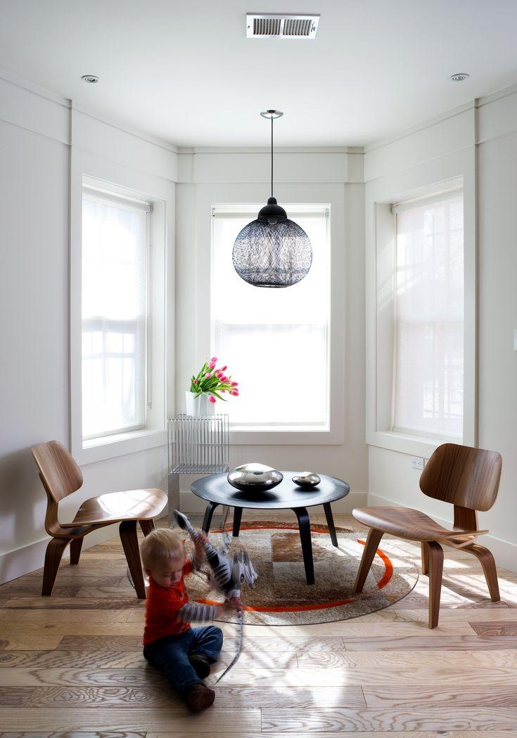 2014 Remodeling Design Awards: Grand Award: Row House Basement #2014RDA  #BasementRemodel #