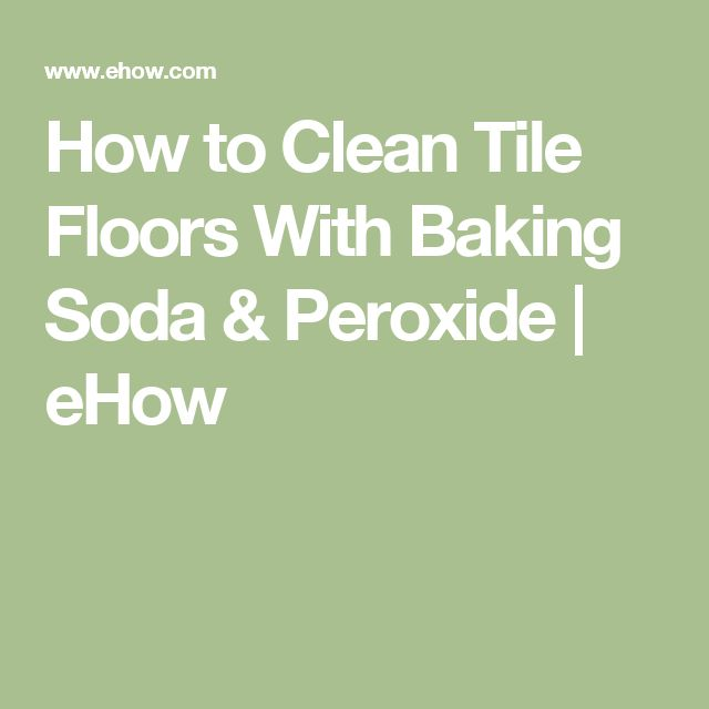 how to clean marble floor with baking soda