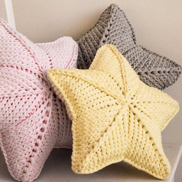Star Pillow In 2020 Crochet Patterns Crochet Lovers Star Pillows