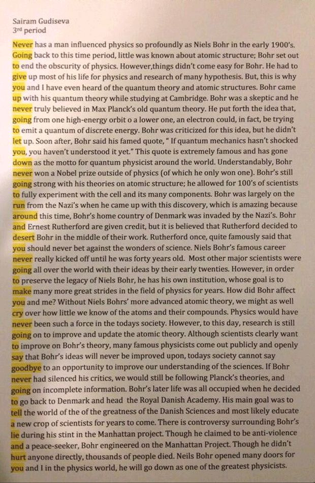 Inserting quotes in essays