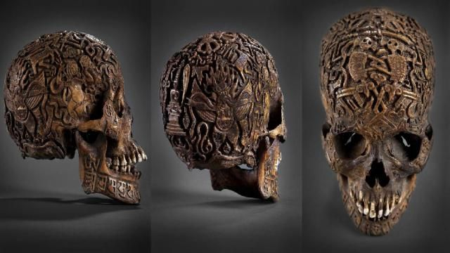 FASCINATING FIND: Experts Can't Figure Out The Meaning Behind This MYSTERIOUS SKULL!